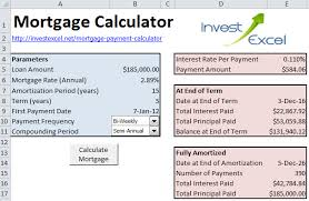 Free Excel Mortgage Calculator Ic Mortgage Loan Amortization Calculator Schedule Template Mortgage