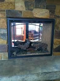 custom fireplace screen custom made custom fireplace screen for see through gas fireplace project custom fireplace custom fireplace screen