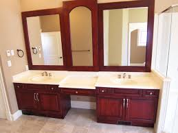 bathroom double sink vanities. Bathroom: Amazing Refined LLC Exquisite Bathroom With Freestanding Gray Double Sink On Countertop From Vanities M