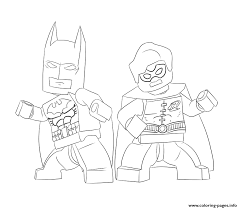 Small Picture batman and robin lego Coloring pages Printable