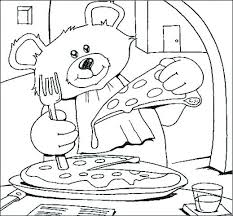 Restaurant Coloring Page The Best Free Restaurant Coloring Page Images Download From