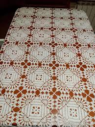 Crochet Tablecloth Pattern Enchanting Square Tablecloth Motif Lace Free Crochet Pattern ⋆ Crochet Kingdom