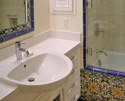 large size of semi recessed bathroom sink with counter decorative tile image by hill architect bathro