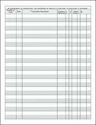 General Ledger Template And Free Download Printable Paper Online