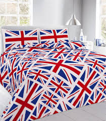 duvet covers pillow cases polyester cotton owl paris printed quilt london union jack
