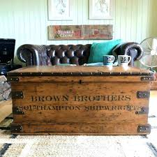 decoration old trunks coffee tables new vintage trunk table drinker for from with lift top amazing