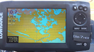 Lowrance Chart Card Lowrance Base Map Vs Standard Mapping E Card