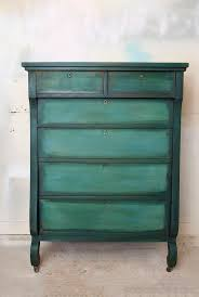 using black wax on layered paint dresser makeover