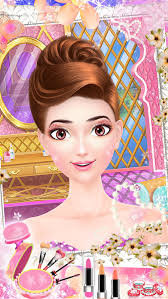 makeup salon barbie princess wedding makeover s make up