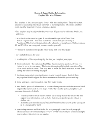 Mla Style Thesis Outline Research Paper Example June 2019 2835 Words