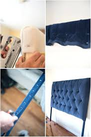 how to make a tufted headboard tural damond furr easy diy with wood trim pegboard