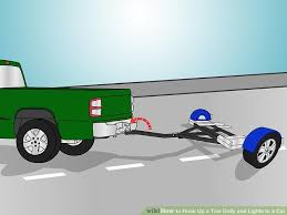 how to hook up a tow dolly and lights to a car pictures image titled hook up a tow dolly and lights to a car step 2