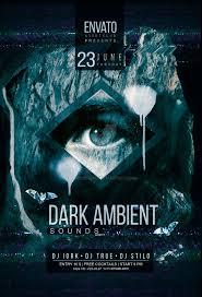 Dark Flyer Dark Ambient Flyer Psd By Iorkdesign On Deviantart