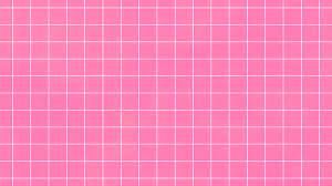 Hot pink aesthetic grid pattern ...