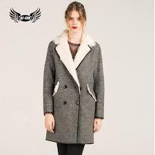 fur office lady fur jacket with turn down collar stylish high grade plus size clothing elegant genuine leather