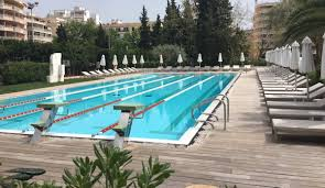 25m outdoor heated swimming pool at Palma Sports Club