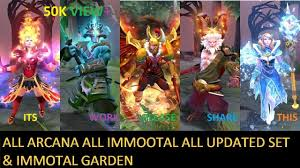 tim dota 2 how to get free arcana or immortal set skin