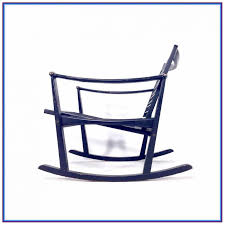 black wooden rocking chairs for