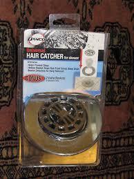 danco universal hair catcher for shower drain chrome bonus 2 extra baskets new
