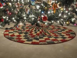 Quilted Christmas Tree Skirt Pattern Interesting Design Ideas