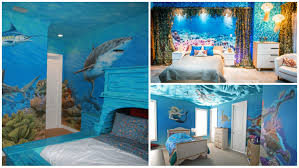 Shark Decorations For Bedroom 10 Bedrooms That Look Like Theyre Under Water