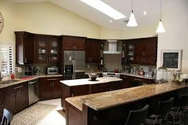 Mocha Shaker Kitchen Cabinets Countertops Raleigh Granite Countertops Raleigh Granite Install