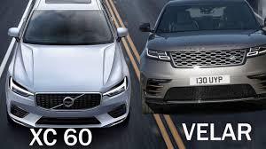 2018 land rover velar interior. contemporary rover 2018 volvo xc60 vs range rover velar  interior and drive performance on land rover velar interior