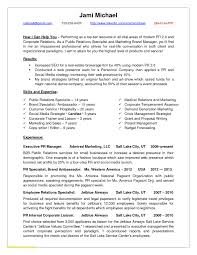 Public Relations Sample Resume Public Relations Resume Templates Resume Cover Letter 14