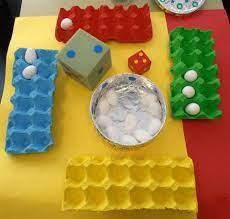 Lista com os símbolos mais utilizados na linguagem matemática. Jugamos Con Cartones De Huevos Para Aprender Matematicas Eierdoos Spel Eieren