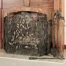 top 75 perfect decorative fireplace cover metal fireplace screen antique fire screen fireplace glass doors vintage