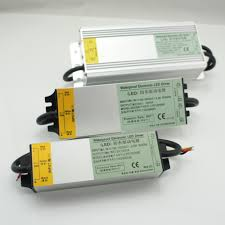 outdoor waterproof ip67 metal housing led transformer power supply ac110v 220v to dc 12v 24v