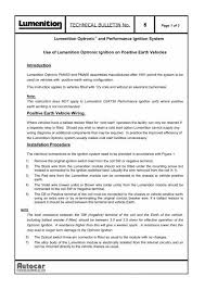 technical bulletin no 6 newtronic