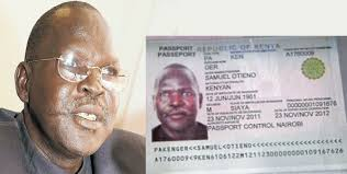 On Daily Nation Found - Sudan Rebel South Kenyan Passport Slain
