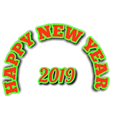 Happy New Year 2019 Wallpaper,Sticker,Gif and Status video Download