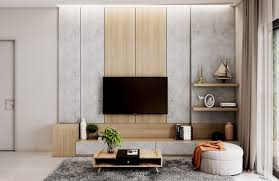 Small Crockery Unit Designs 50 Ideas To Decorate The Wall You Hang Your Tv On
