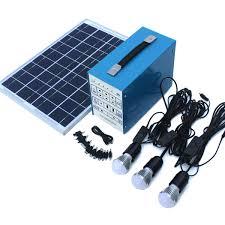 economy 20 watt off grid solar lighting kit