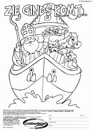 Kleurplaat 7 Sinterklaas Kleurplaten Gratis Norskiinfo