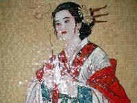 Китайская <b>мозаика из мрамора</b> ( великолепно белый камень)