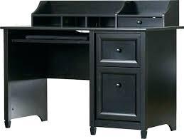 Small Black Office Desk Study Desk Small Desktop Computer Wood