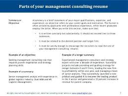 It Consultant Resume Example Management Consulting Resume Example ...
