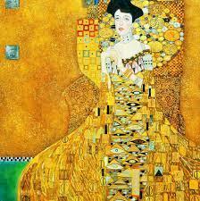 Gustav Klimt - Adele Bloch Bauer I g98353 80x80cm exzellentes Ölbild  handgemalt Museumsqualität | KunstDepot24 Ölgemälde und Bilderrahmen Berlin