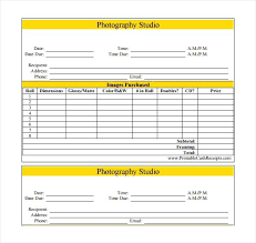 Photography Pricing Pdf Template – Mklaw