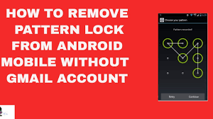 How To Reset Pattern Lock On Android Without Google Account