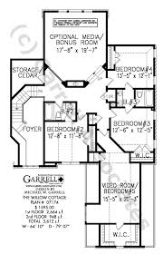 willow cottage house plan house plans by garrell associates, inc Four Bedroom Cottage House Plans willow cottage house plan 07174, 2nd floor plan 4 bedroom cottage house plans