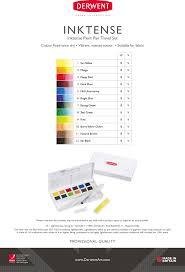 Derwent Inktense Paint Pan Refills I Paint I Art Supplies
