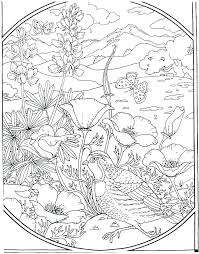 Coloring Pages Nature Colouring Pages Nature Scenes Dariokojadininfo