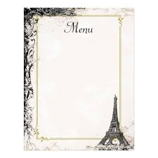 french menu template blank french menu template world of printable and chart