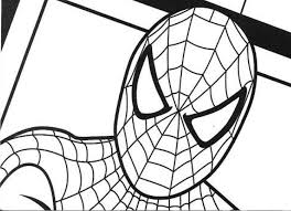Small Picture Printable Spiderman Coloring Pages Pictures 16341