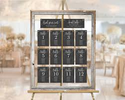 Table Seating Chart Cards Lovely Calligraphy Lcc Faux Chalkboard