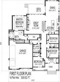 Home Design  Amazing 4 Bedroom Duplex House Plan J0602 13d 4 Bedroom Duplex Floor Plans